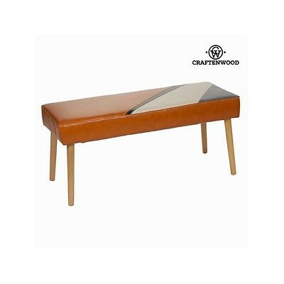 S0102536 Archie upholstered bench by Craften Wood
