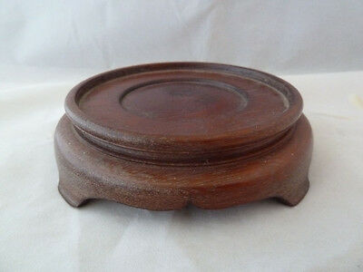 Antique Chinese Hardwood Stand For Vase or Bowl - Qing / Republic