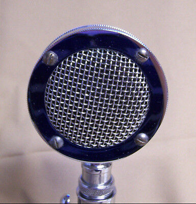 Vintage Astatic D-104 Lollipop Microphone Head Great Condition Missing Badge/Tag
