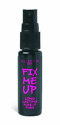 COLLECTION 2000 Fix Me Up Long Lasting Make-Up Fixer Fixing Spray - 18ml