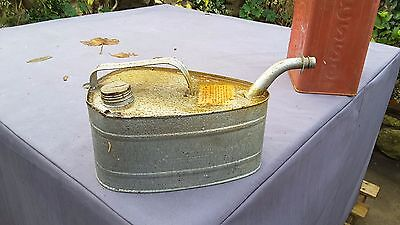 Vintage Unusual Petrol  Paraffin Can Metal For Paraffin Heater?