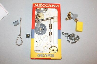 Vintage Meccano Gears & Misc Parts  Made In England