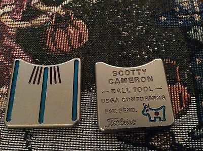 Scotty Cameron Titleist JAPAN BULL Dog Alignment Tool Ball Marker