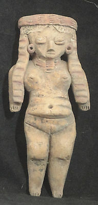 "A Finely Detailed ""pretty Lady"" From Precolumbian Michoacan Mexico"