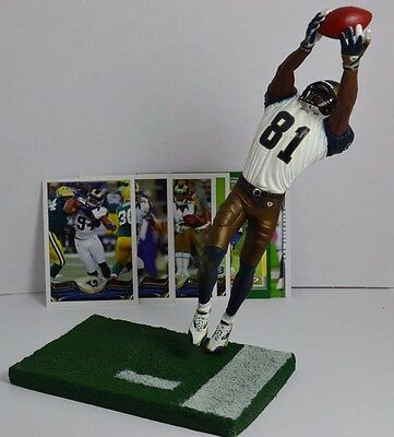 Figurine Torry Holt St Louis Rams Plus 10 Cartes Nfl