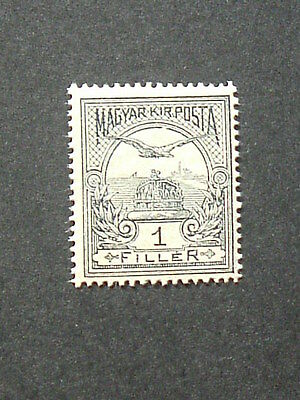 Hungary 1909.  Mi -91Y.  107 years old Classic stamp. MNH.