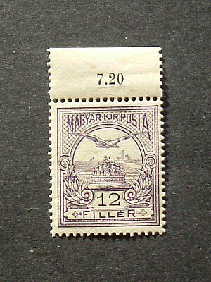 Hungary 1909.  Mi -97Y.  107 years old Classic stamp. MNH.