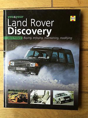 Haynes Manual You and Your Land Rover Discovery: Buying, Enjoying...