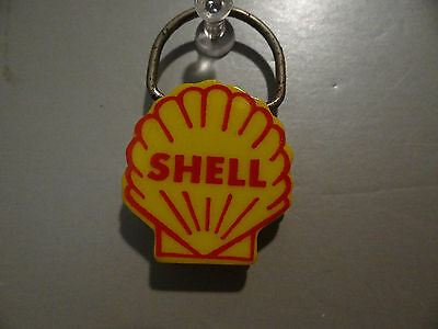 Vintage Shell Oil Key Chain Ring