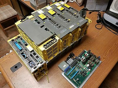 Fanuc Complete Setup Power Supply, Processor, Modules