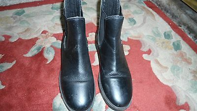 Black Leather Jodphur Boots by Wessex Sz 32