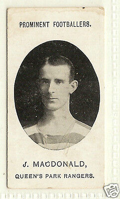 TADDY - Prominent Footballers (No Footnote) - 1907 - J.Macdonald - Q.P.R.
