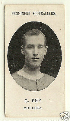 TADDY - Prominent Footballers (With Footnote) - 1908 - G.Key - Chelsea.