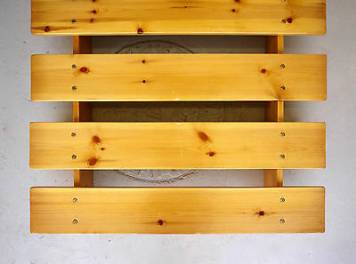 Vintage Low Pine Bed | Bed Base | Japanese Style Futon Base