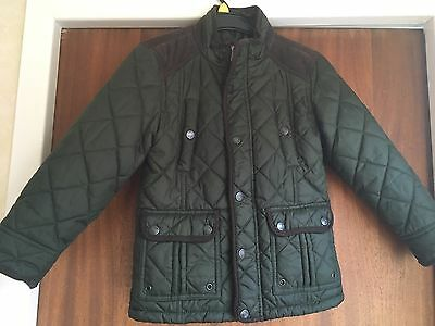 Boys George Quilted Jacket, Age 6-7