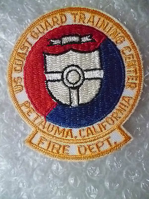 Patches-US Coast Guard Training Center Fire Dept Police Patches,California(New*)