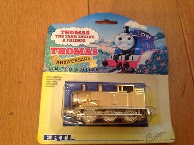 Thomas the tank engine limited edition anniversary gold train