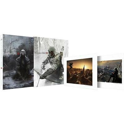 """Assassin's Creed 3 Art Book  """"RARE"""" 500 COPIES Limited Edition SIGNED AND SEALED"""
