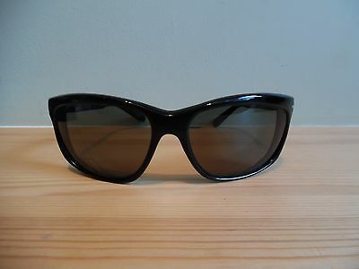 """Vintage Persol Oversize Black """"RATTI"""" Sunglasses  6602 with New Lenses"""