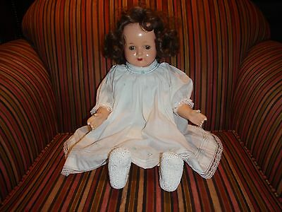 """Antique 26"""" Effambee ROSEMARY Doll Composition Wonderful Condition"""