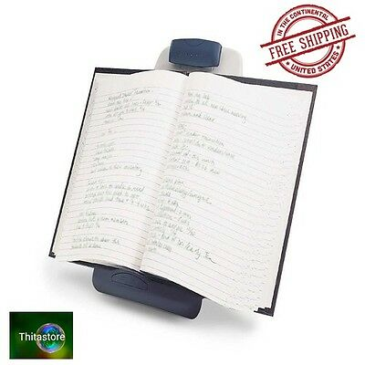 Book Holder Copy Document Holders Adjustable Paper Stand Desk Accessory Reading