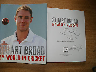 Signed Book-Stuart Broad-My World In Cricket