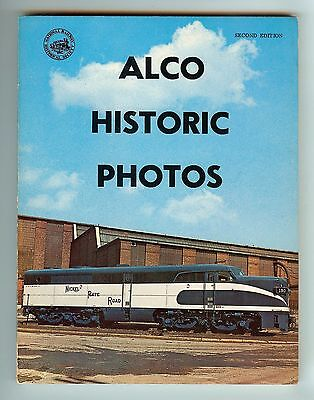 ALCO Historic Photos Catalog - 2nd Edition American - Locomotive Company NRHS