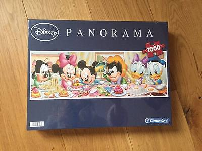 1000 piece  Disney Panorama Jigsaw New and Sealed.