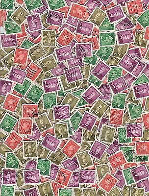 OLD CANADA KILOWARE: 450+ KGVI Defins. MINT & USED. UNCHECKED. Off Paper. (1)