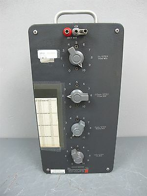 GR General Radio Decade Inductor Inductance Box Type 1490-D