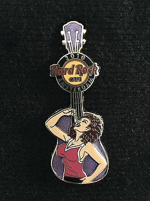 Hard Rock Cafe Amsterdam Zodiac Guitar Series #2 Pisces pin 2010 - LE 250