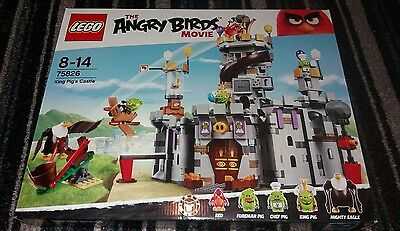 Lego Angry Birds King Pigs Castle. Never Built. No Minifigures