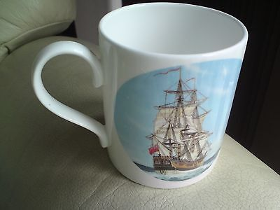 Lovely Captain Cook Endeavour Mug, Vgc, Free-Mailing..