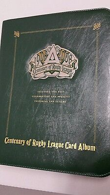 2008 Centenary Of Rugby League With Over 70 Cards Signed