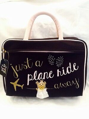 ������Yorkshire Terrier Yorkie Child's Hand Painted Travel Bag Suitcase artbyuta