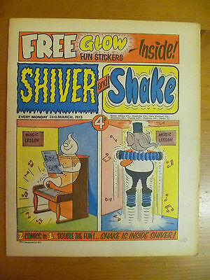 Shiver and Shake UK Comic, Issue 3, March 24th 1973