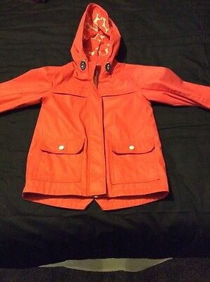 M&S Indigo Girls Raincoat 6-7