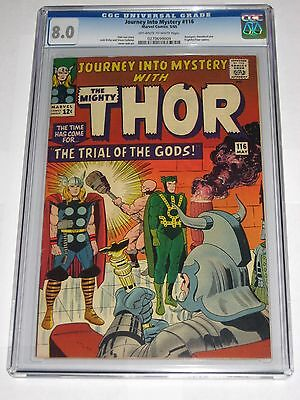 Journey Into Mystery #116 CGC 8.0 Daredevil Avengers Appearance