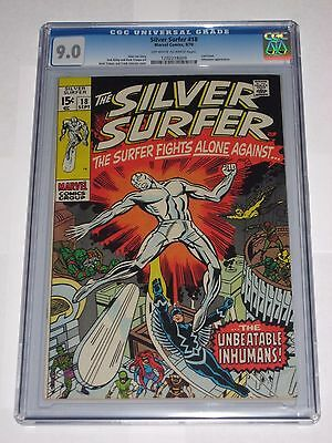 Silver Surfer #18 CGC 9.0 Last Issue