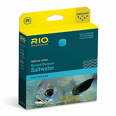 RIO General Purpose Tropical Saltwater Floating/Int. Sink Tip Fly Fishing Line