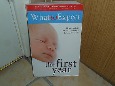 """""""what To Expect The First Year"""" Murkoff, Eisenberg&hathaway -Shropshire"""