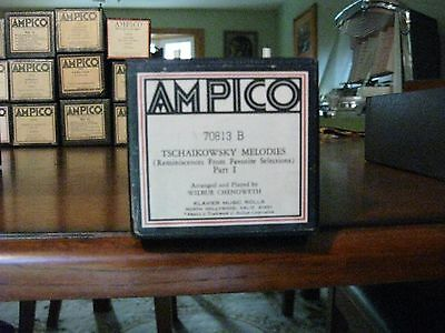 Tschaikowsky Molodies Part One Ampico Re-Cut Piano Roll