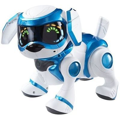 4G Tekno Robotic Puppy w/ Bone & Ball- Blue Brand New and Factory Sealed