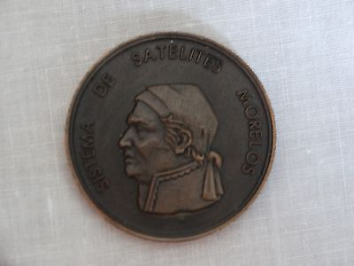 Morelos Mexican Satellite Commemorative Medal Mexico