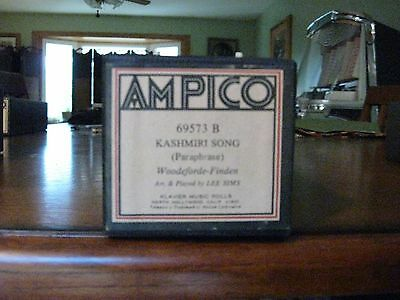 Kashmiri Song Arr. & Played By Lee Sims Ampico Re-Cut Piano Roll