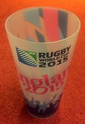 Rugby World Cup 2015 Official Plastic Pint Cup Beaker