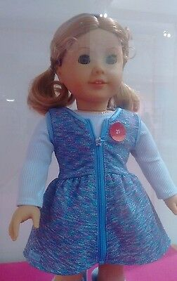Authentic American Girl Doll Purple Sparkle Outfit in Store Exclusive New LTD ED