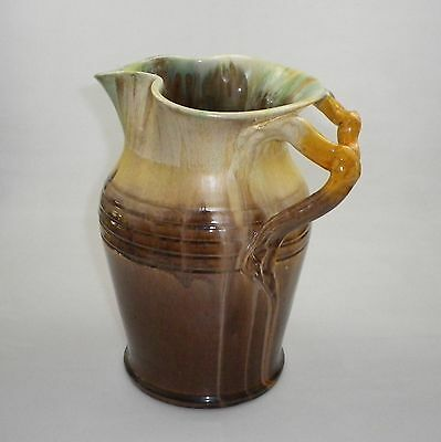 Huge Early Remued Jug With A Super Gnarled Branch Handle