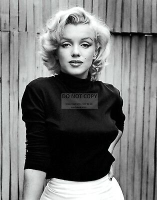 Marilyn Monroe Iconic Actress And Sex-Symbol - 11X14 Publicity Photo (Lg-093)