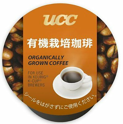 UCC K-CUP organically grown coffee 8g 12 pieces